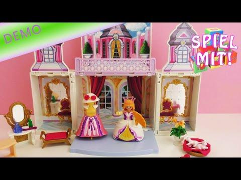Playmobil aufbauen - Playmobil Princess Aufklapp-Schlösschen Aufbau