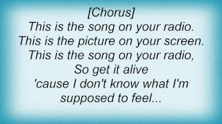 3 Colours Red - Song On The Radio Lyrics