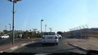 preview picture of video 'Driving through Eilat'