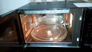How to use a LG MICROWAVE   Beginners   DEMO