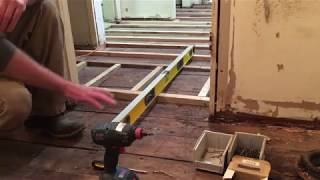 DIY: How To Level A Sloping Wood Floor
