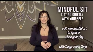 Mindful Sit: Sitting Quietly with Yourself