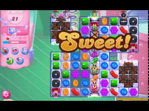 Candy Crush Saga Level 5479 (No boosters)