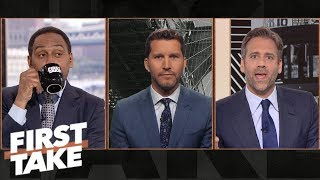 Stephen A. sips tea while Will Cain shreds into Max about Cowboys' defense | First Take | ESPN