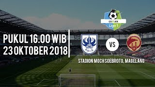 Live Streaming Vidio.com Liga 1, PSIS Semarang Vs Sriwijaya FC Pukul 16.00 WIB