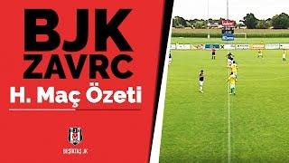 Beşiktaş-Zavrc maçının özet görüntüleri