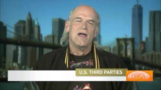 Jesse Ventura Discusses Third Party Candidates In The US Presidential Elections