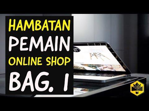 Hambatan Pemain Online Shop Bag. 1