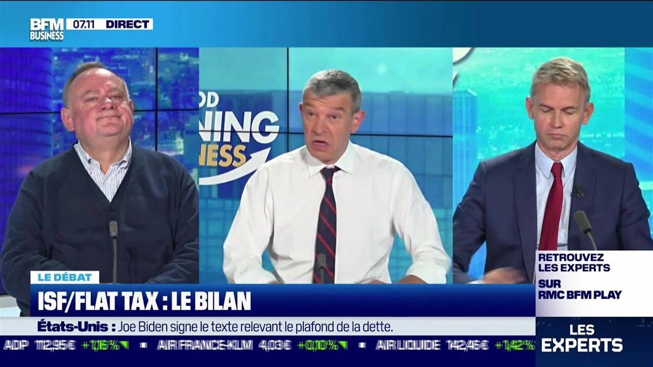 Le débat  : ISF/Flat tax, le bilan