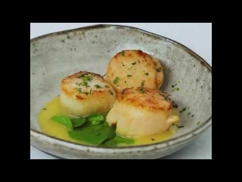 Scallop with Beurre Blanc