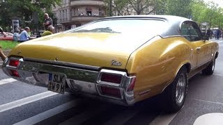 Oldsmobile Cutlass V8 Sound [HD]