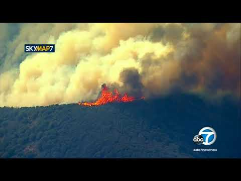 Thomas Fire: Evacuations in Santa Barbara County continue to expand | ABC7