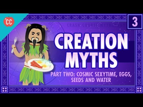 Kosmické intimčo, vajíčka, semena a voda