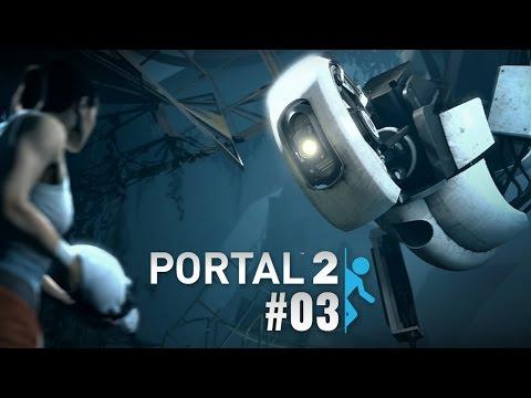 Portal 2 - 03 - Světelné mosty
