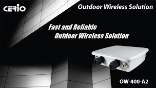 OW-400-A2 11ac Dual Band Outdoor Access Point