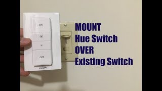 Cover a Light Switch with a Hue Dimmer Switch