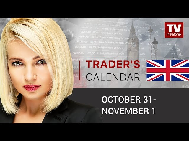 InstaForex tv calendar. Traders' calendar for October 31 – November 1: USD faces downward risks (USD, EUR, AUD)