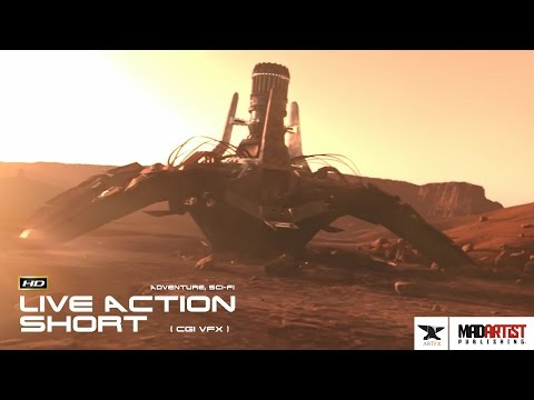 "Live Action CGI VFX Animated Short ""TERRAFORM"" Adventurous Sci-Fi Film by ArtFX"