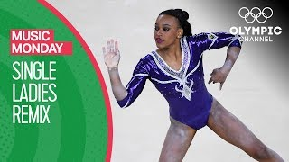 Rebeca Andrade Dazzles her Home Crowd to Beyoncé at Rio 2016 | Music Monday