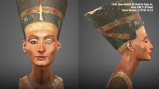 See Ancient Egyptian Nefertiti Bust in Amazing 3D Model