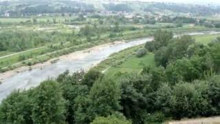preview picture of video 'Dobczyce - zamek nad zalewem'