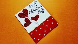 Beautiful Handmade Valentines Day Card Idea For Boyfriend | Complete Tutorial