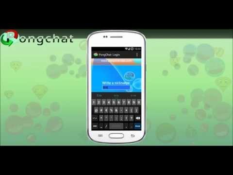 Video of PongChat Messenger