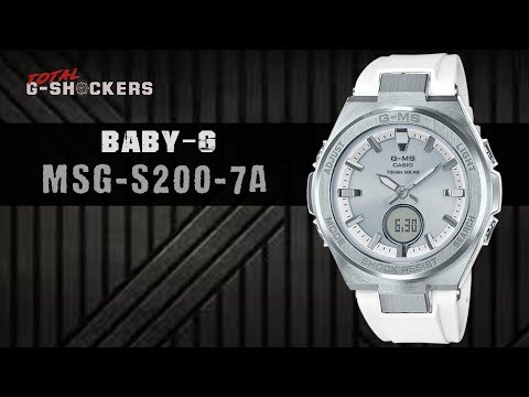 Casio BABY-G MSG-S200-7A | Top 10 Things Watch Review