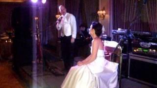Jeff Reina Wedding Song to Velda