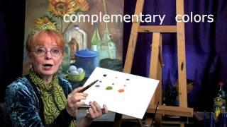 Art Instruction Beginning Oil Painting Understanding Color