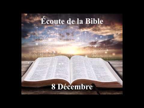 Écoute de la Bible du 8 Décembre