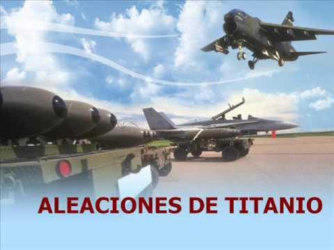 aleaciones de titanio - aces high