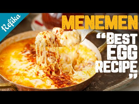 Menemen - a Sumptuous Turkish Scrambled Eggs Recipe