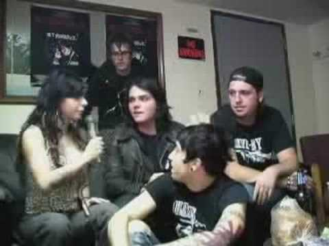 MCR interview for Burning Angel