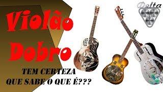 O que é um violão resonator - Delta Guitars