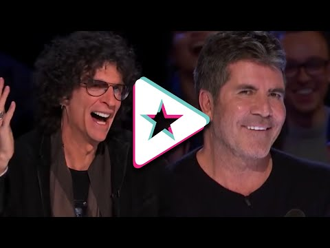 Top 7 FUNNIEST Auditions on America's Got Talent EVER (видео)