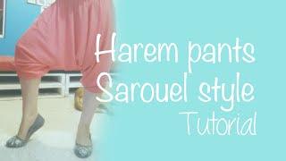 ♥ How To Make Harem Pants (sarouel Style) ☁