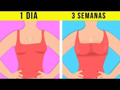 El aumento de los músculos del pecho del ejercicio del pecho