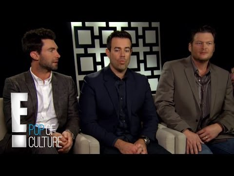 "Adam Levine, Blake Shelton And Carson Daly On ""The Voice"" 