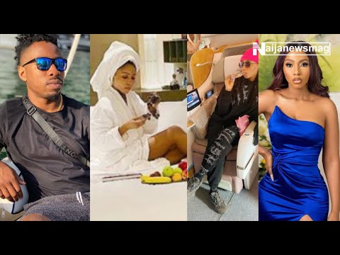 Dubai Hotel surprises BBNaija's Mercy with a Luxury Room, see how she and Ike jumped in excitement