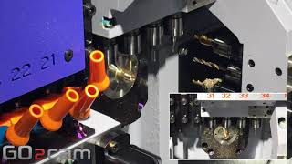 GO2cam Langdrehen - Simulation auf STAR SB20