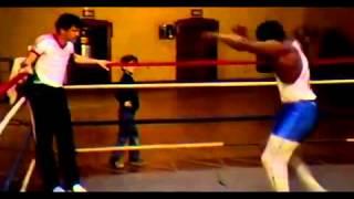 Майк Тайсон   Бой с тенью / speed of Mike Tyson 2