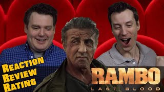 Rambo Last Blood - Trailer Reaction / Review / Rating