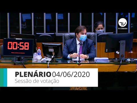 Plenário -  Análise de projeto que obriga presença de fisioterapeuta em UTIs - 04/06/2020