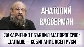 Анатолий Вассерман. Захарченко объявил Малороссию; дальше – собирание Всея Руси