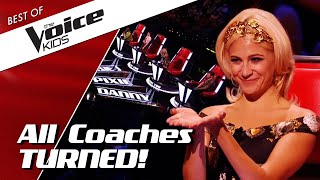 TOP 10 | KIDS get ALL chairs turned in The Voice Kids
