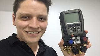 Testo 570 Manifold Digital - Esclarecendo Dúvidas De Funcionamento