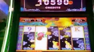 Shen long--Huge win with dragon feature bonus- 2 cent denomination
