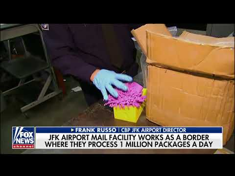 Intercepting opioids shipped into the US