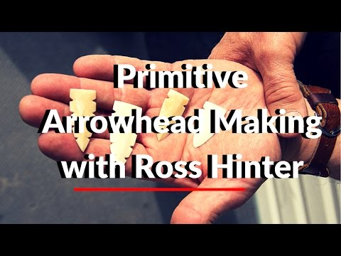 Download How To make Primitive Arrow Heads with Ross Hinter HD Mp4 3GP Video and MP3